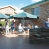 bermagui accommodation courtyard