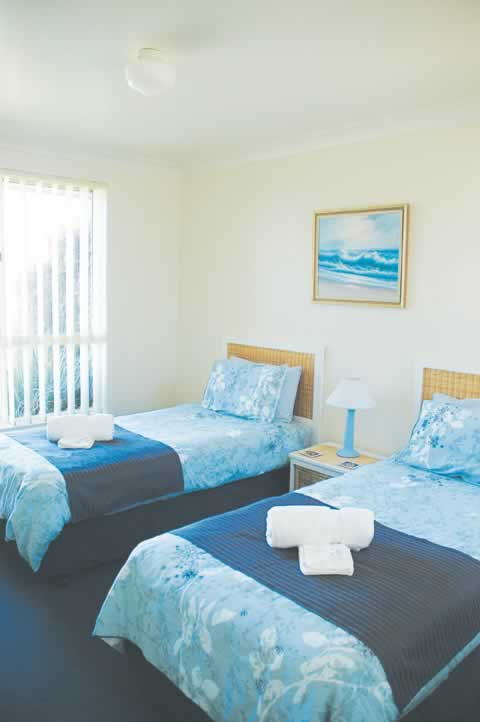 bermagui accommodation Twin beds
