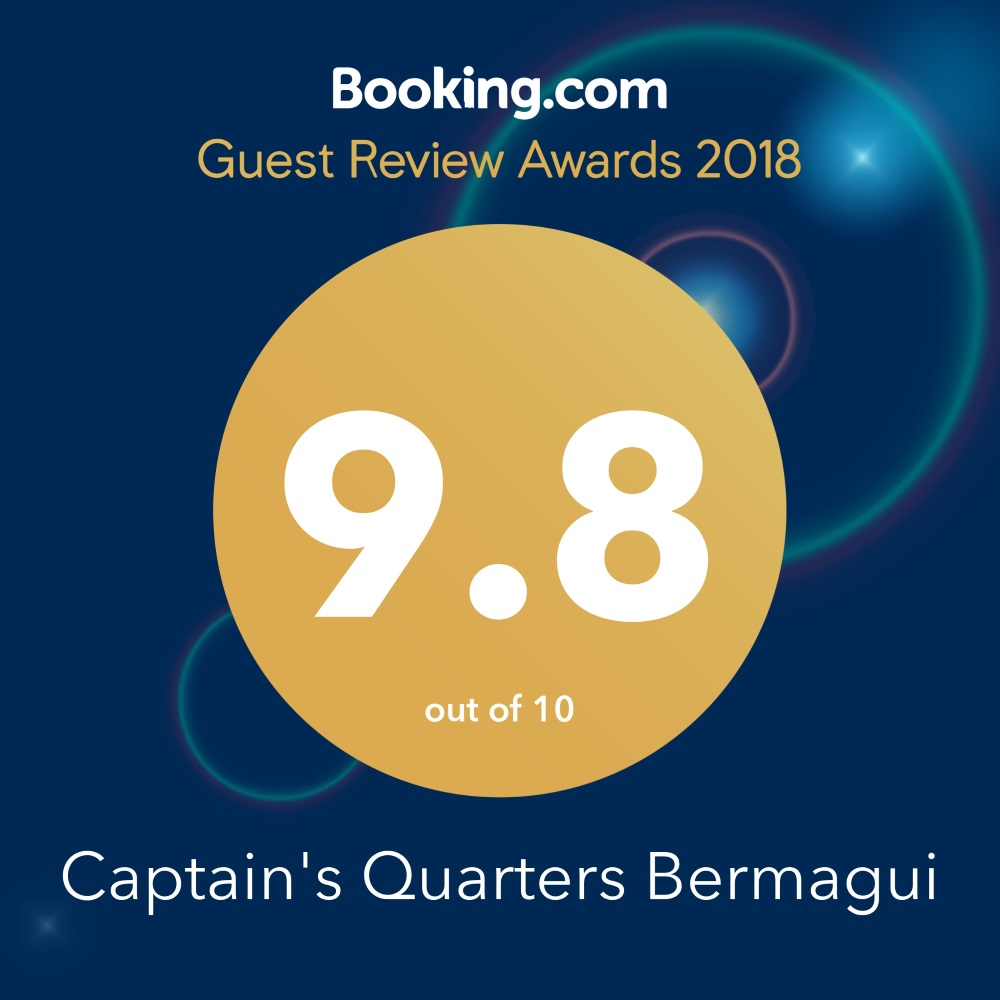 Guest Review Award 2018 Booking.com Captain's Quarters Townhouses Bermagui