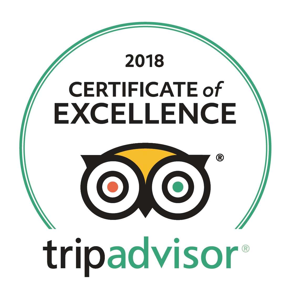 Certificate of Excellence for Captain's Quarters Townhouses Bermagui Tripadvisor