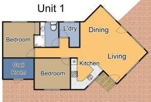 Townhouse 1 open plan