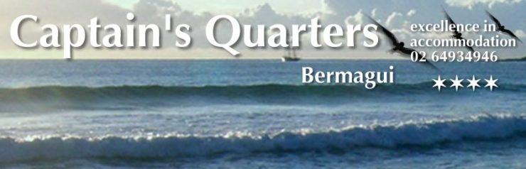 Captains Quarters Bermagui four star accommodation
