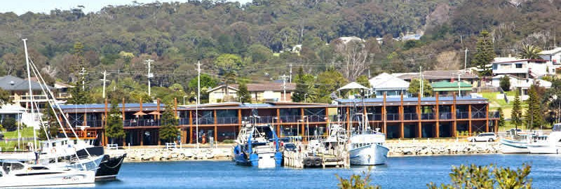 bermagui acommodation fishermens wharf