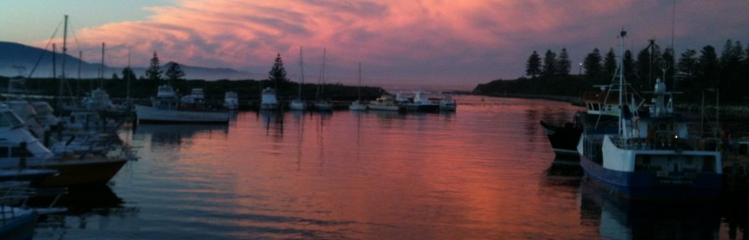sunset Bermagui Captain's Quarters